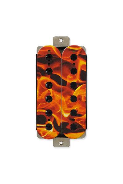 graphic guitar pickups: Fire look humbuckers